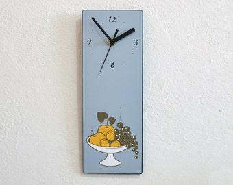 Fruit Basket - Kitchen Wall Clock