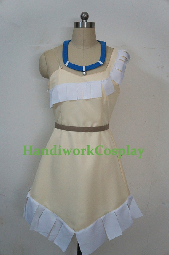 Pocahontas costume custom any size for adult kids and plus size