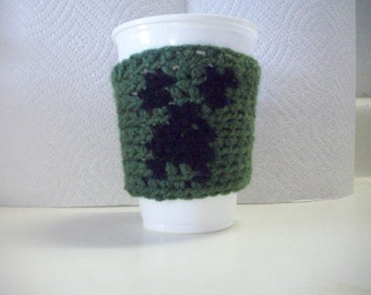 Creeper Cup Cozy