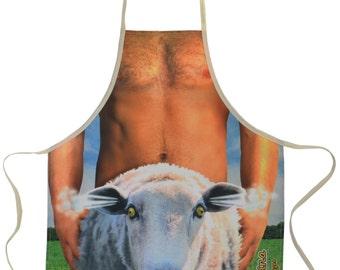 Sheep Shagger Apron Hilarious & Funny Kitchen Novelty Apron For Men *FREE SHIPPING*