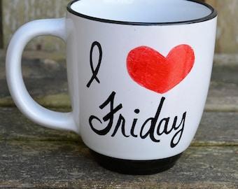 I Love Friday Gift Mug