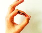 Magnifique - Temporary tattoo (set of 2)
