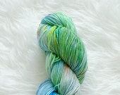 pond kraken - superwash sock yarn - merino wool / nylon