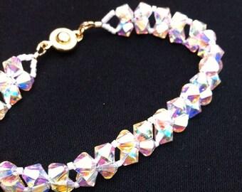 Bride and Bridesmaid Crystal Bracelet
