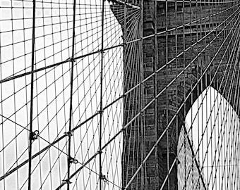 Brooklyn Bridge B&W