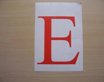 Vinyl letters etsy for Letter decals for cups