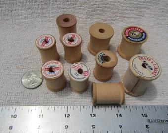 Wood / Wooden thread spools