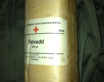 Ww2 unbleached cotton wool medical dressing , 250gram