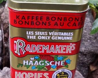 Vintage Metal Tin - Rademaker's Kaffee Bonbons