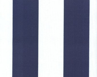Outdoor Stripe Blue & White, Stripe Fabric