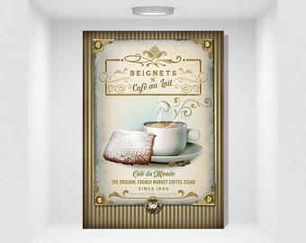 NOLA Collection Cafe au Lait n Beignets Download & PSD