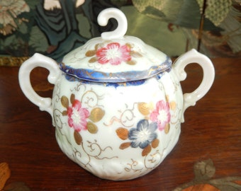 VINTAGE SUGAR BOWL with Lid