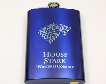 Game of Thrones 8 oz House Stark Flask