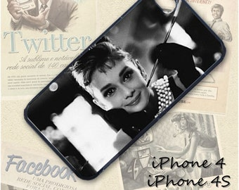 Audrey Hepburn cell phone Case / Cover for iPhone 4, 5, Samsung S3, HTC One X, Blackberry 9900, iPod touch 4 / 271