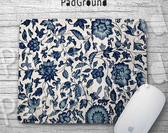 Floral Mousepads, Flower Mouse Pad, Mouse Mat, Vintage Pattern, Office Decor, Dorm Decor, Accessories, Girls Gifts, Birthday Gifts - fp10