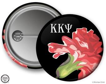 KKY Kappa Kappa Psi Fraternity Carnation Button