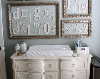 ON SALE!! Wooden Letter Alphabet Unpainted Various fonts, Various size Letters, Childrens Decor - Introductory PRICE