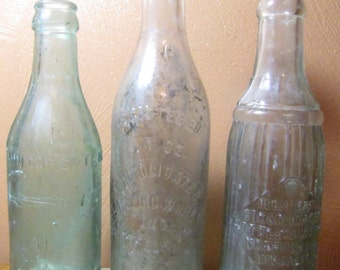 Vintage Soda Bottles From Norfolk, Virginia