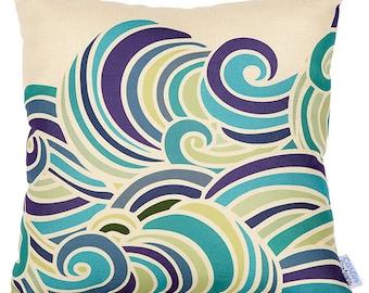 Carlin Cushions Waves Cushion Cover
