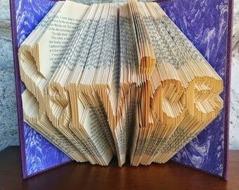 Service - Folded Book Art - Fully Customizable, LDS