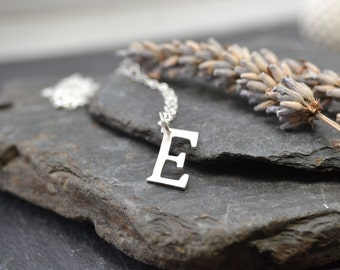 Sterling silver handcut letter