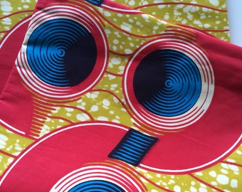 African Print Fabric / 6 Yards