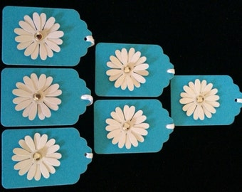 Daisy Gift Tags - Set of 6