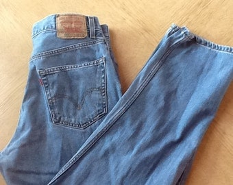 Old Levi's- bleach'em, rip'em, make them your own!
