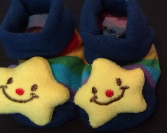 Star socks 0-10 months