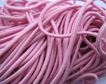 2mm 5meters ropes pink elastic cords elastic string