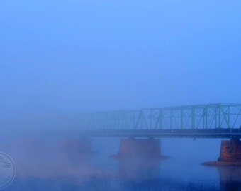 Disappearing Bridge 11x17in Photo Print