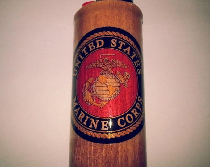 U.S. Marines Lighter Case Lighter Holder, Lighter Sleeve