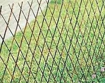 "Willow Expandable Lattice Fence Panel, 72""W X 24""H, Set of 2, WSF-24"