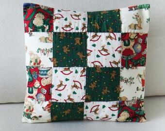 Handmade Christmas Cushion Covers - Set of 2