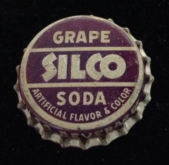 SILCO Grape Soda Bottle Cap Cork SALE By Txsodajerks On Etsy