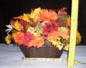 Beautiful fall silk  flower arrangement, uniquely made for you!