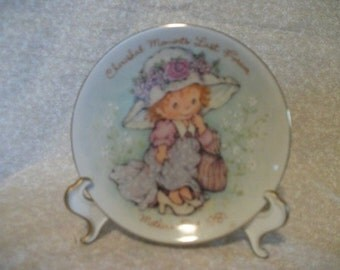 Avon Cherished Moments Mothers Day Plate 1981