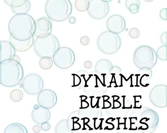 Dynamic Bubble Brush for Adobe Photoshop