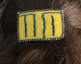 Win the Day Oregon Ducks Barrette