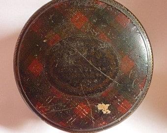 Antique Princess Louise Mauchline Tartanware Thread Box