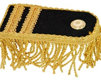 Kids and Adults Deluxe Ceremonial Epaulettes Costume Accessory - For Victorian, Edwardian, Regency, Colonial, Frontier, & More