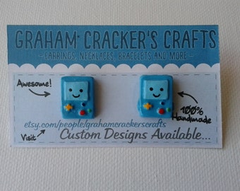 Handmade BMO Earrings