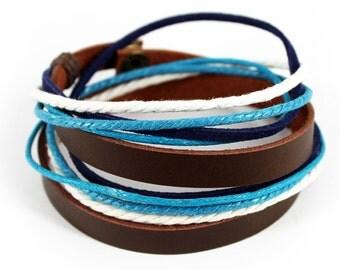 axy wrap bracelet TWIC6-3!  Leather Bracelet