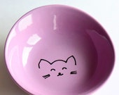 Cute bowl either for cats or yourself
