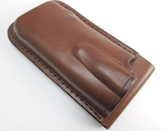 Custom Leather Sheath for Benchmade 275 Sibert Adamas Folding Knife, Handmade