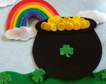 Saint Patrick's Day Felt Board