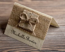 Custom listing (20) Place Cards, Tented Place Cards, Escort Card, Name Card, Birch Bark Place Cards, Twine Escort Card,