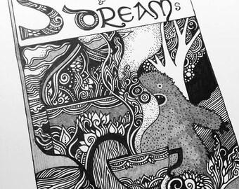 Stories and Dreams Zine by Megan Noel