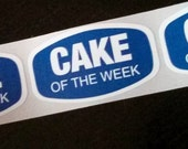 80 stickers - cake of the week