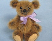 SALE Miniature Artist Bear MiniatureTeddy Bear